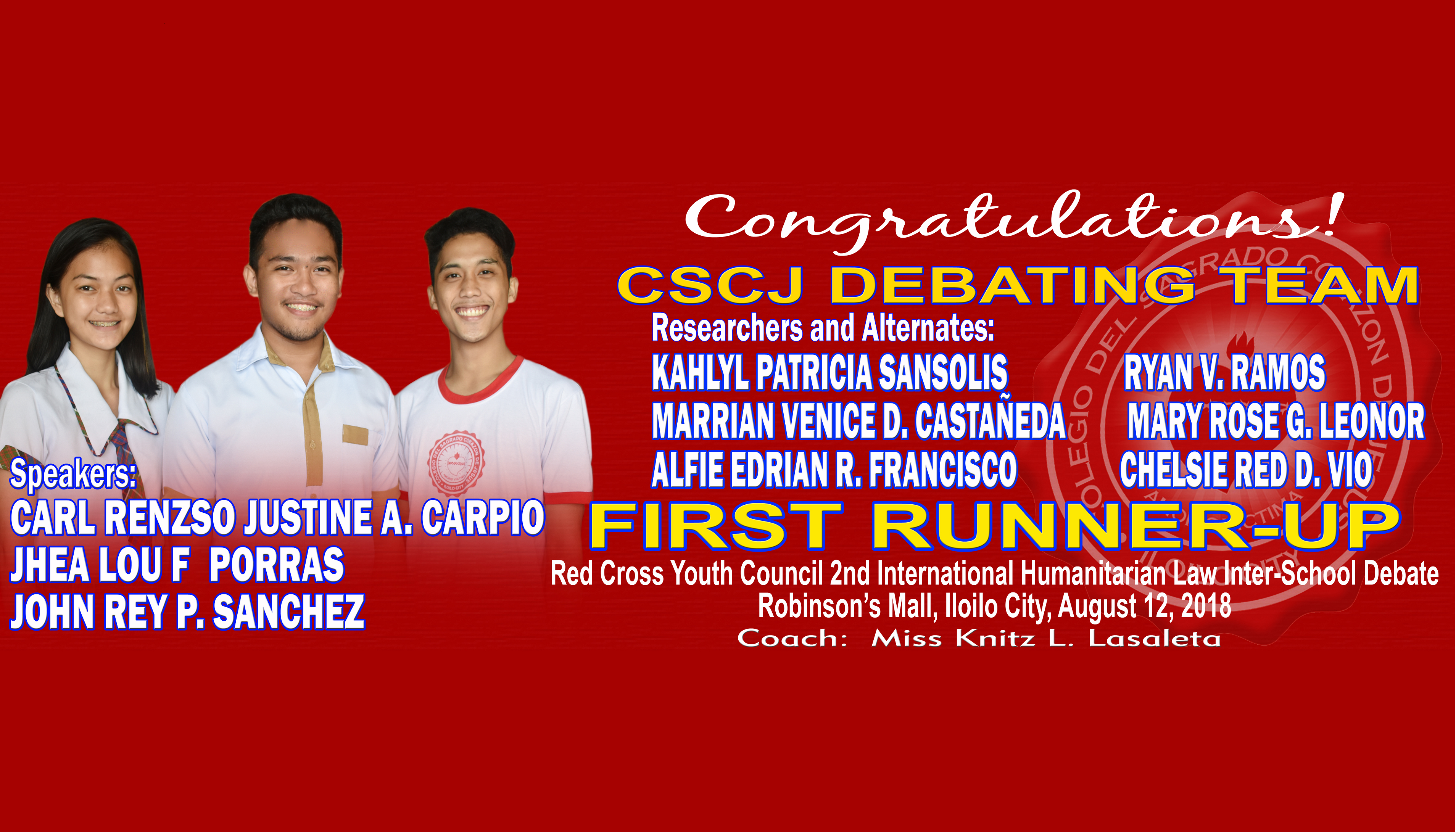 RED CROSS - FIRST RUNNER UP - 30X100 in copy